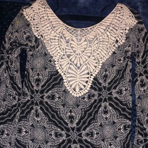 Altar'd State Embroidery Blouse